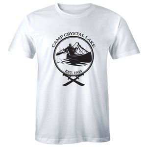 Camp Crystal Lake Friday 13th Halloween T-shirt